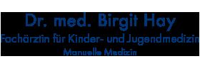 Dr. med. Birgit Hay – Fachärztin für Kinder- und Jugendmedizin